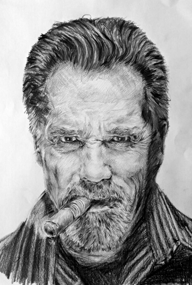 Arnold Schwarzenegger by linshyhchyang